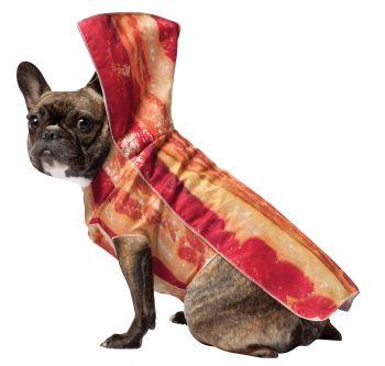 Bacon Dog Costume - Pet Medium