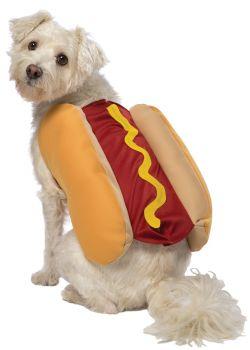 Hot Dog Dog Costume - Pet XX-Large