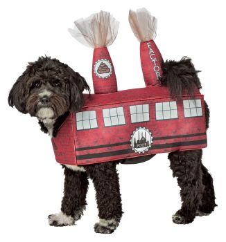 Poop Factory Dog Costume - Pet L/XL
