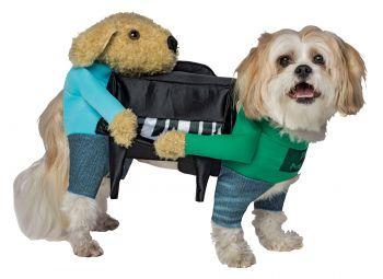 Piano Dog Costume - Pet L/XL