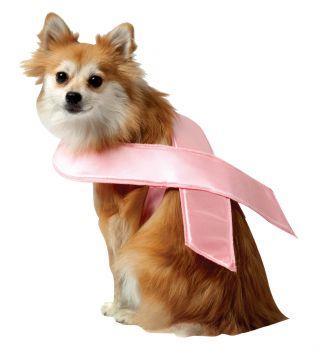 Pink Ribbon Dog Costume - Pet X-Large
