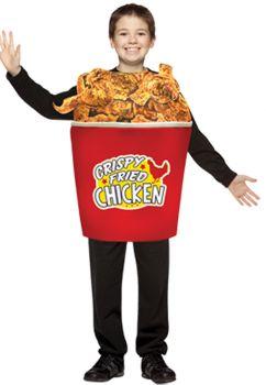 Bucket Of Fried Chicken Child Costume