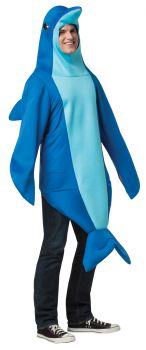 Dolphin Costume - Adult S/M