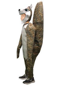 Squirrel Child Costume