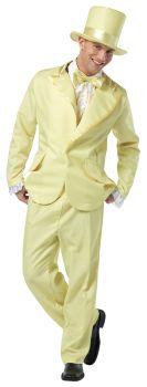 70s Funky Pastel Tuxedo - Yellow - Adult L (42 - 44)