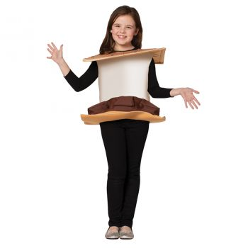 S'Mores Child Costume - Toddler (3 - 4T)