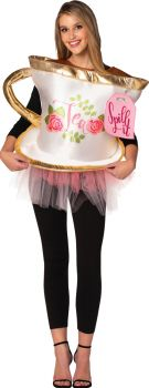 Women's Spill It Tea Cup Costume