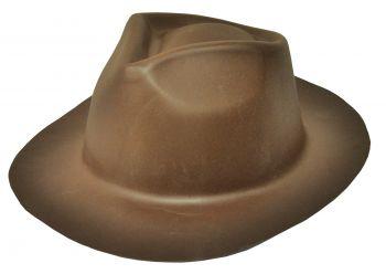 Gangster Hat Foam - Brown