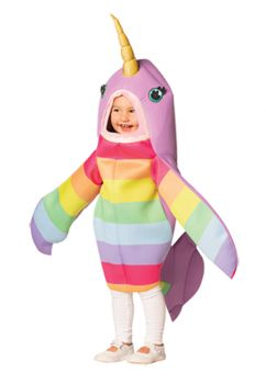 Magical Narwhal Child Costume - Toddler (3 - 4T)