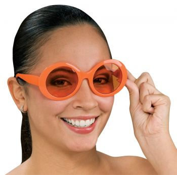 Fabulous Capri Glasses - Orange