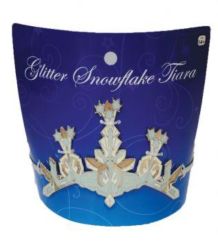 Glittery Snow Tiara