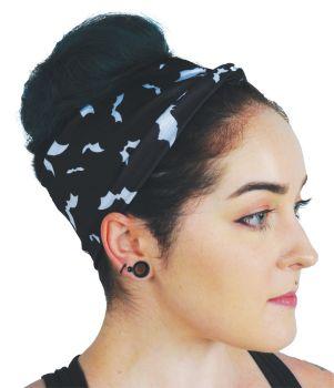 Metallic Batty Turban Headband
