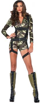 Women's Goin' Commando Costume - Adult Large