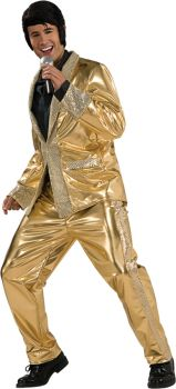 Gold Lame Suit Grand Hertge Sm