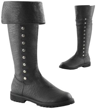 Men's Gotham Boots #120 - Black - Men's Shoe S (8 - 9)