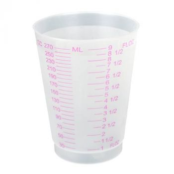8oz Graduated Plastic Cups
