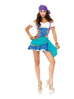Women's Gypsy Princess Costume - Adult M/L