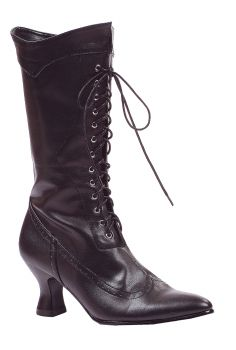 Women's Amelia Lace-Up Boot - Black - Women's Shoe 10