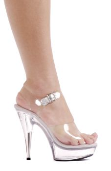 Women's Brook Clear Platform High-Heel #601 - Women's Shoe 10