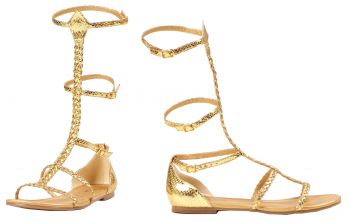 Women's Cairo Gold Gladiator Sandal - Women's Shoe 6