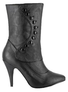 Women's Ruth Victorian Boot - Black - Women's Shoe 7
