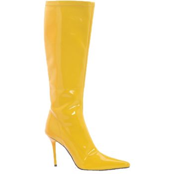 Women's Emma Knee-Length Boot - Yellow - Women's Shoe 6