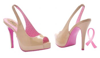 Women's Mary Ellen Cancer Awareness Pump - Pink - Women's Shoe 8