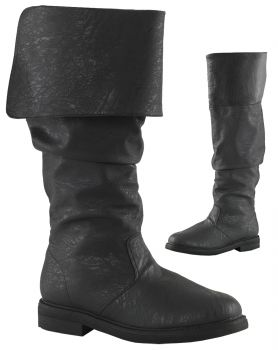 Men's Robin Hood Boots #100 - Black - Men's Shoe XL (14)