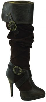 Women's Caribbean Boot #216 - Brown - Women's Shoe 8