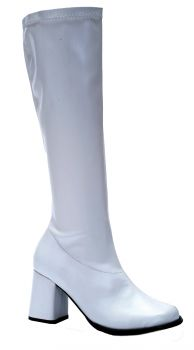 Women's Go Go Boot - White - Women's Shoe 5