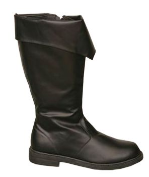 Men's Pirate Boot - Black - Black - Men's Shoe L (12 - 13)