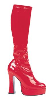 Women's Cha-cha Platform Boot - Red - Women's Shoe 7