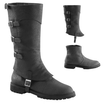Men's Gotham Boots #105 - Black - Men's Shoe S (8 - 9)