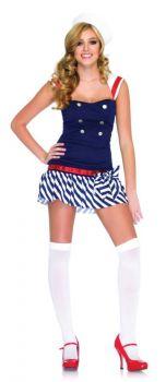 Women's Harbor Hottie Costume - Adult M/L
