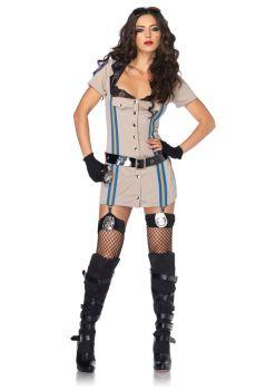 Women's Highway Patrol Honey Costume - Adult Large