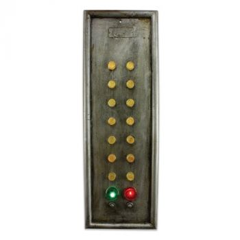14 Button Elevator Control Panel