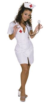 Women's Hot Flash Costume - Adult Small