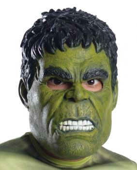 Hulk Child 3/4 Mask