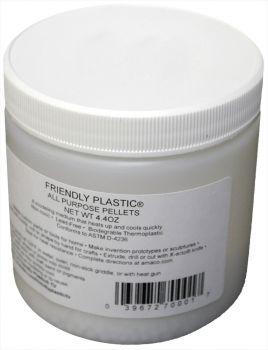 Friendly Plastic Jar - 4.4 oz