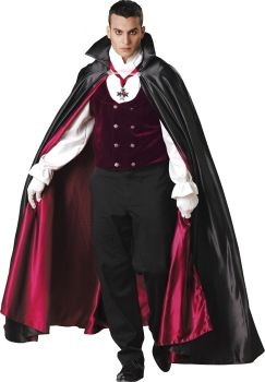 Men's Gothic Vampire Costume - Adult L (42 - 44)