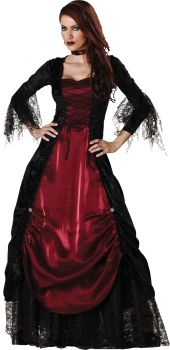 Women's Gothic Vampiress Costume - Adult L (12 - 14)