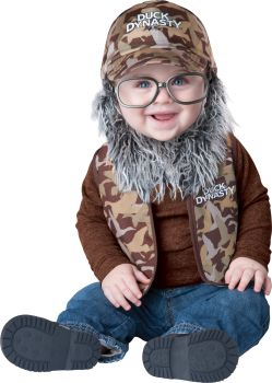 Uncle Si Costume - Duck Dynasty - Toddler (18 - 24M)