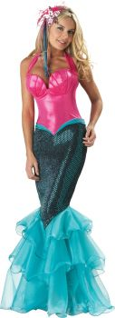 Women's Mermaid Costume - Adult M (8 - 10)