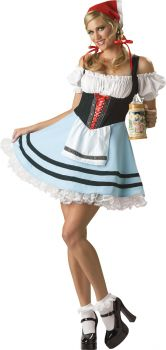 Women's Oktoberfest Girl Costume - Adult L (12 - 14)
