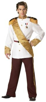 Men's Prince Charming Costume - Adult L (42 - 44)