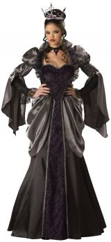 Women's Wicked Queen Costume - Adult L (12 - 14)