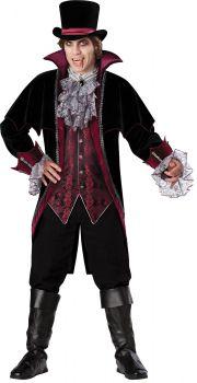 Men's Vampire Of Versailles Costume - Adult XL (46 - 48)