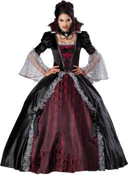 Women's Vampiress Of Versailles Costume - Adult L (12 - 14)