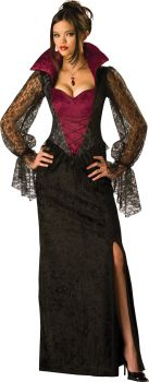 Women's Midnight Vampiress Costume - Adult L (12 - 14)