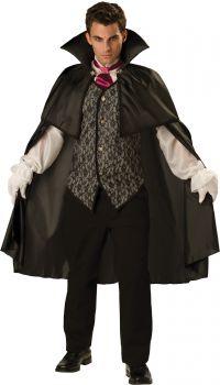 Men's Midnight Vampire Costume - Adult XL (46 - 48)